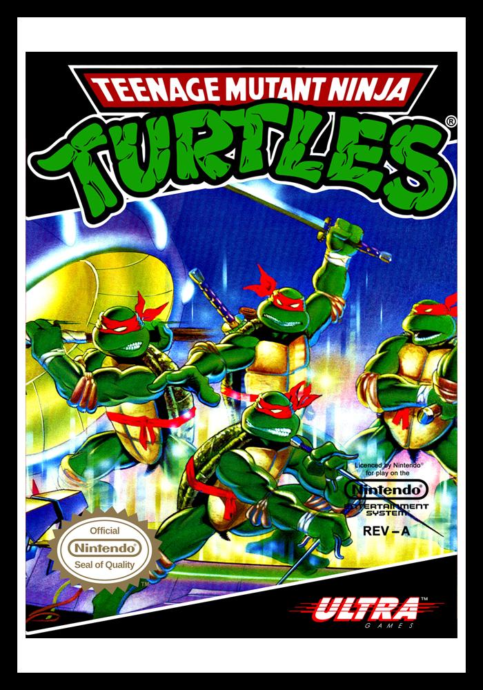 Nes Teenage Mutant Ninja Turtles Retro Game Cases