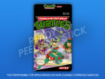 NES - Teenage Mutant Ninja Turtles Label