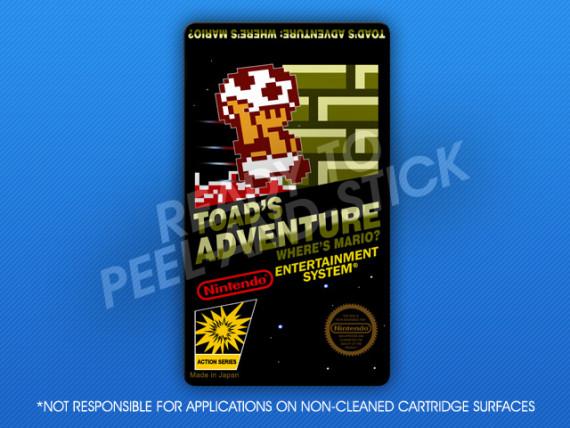NES - Toad's Adventure: Where's Mario?