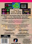 NES - Trolls on Treasure Island (back)