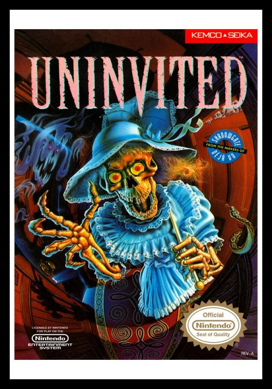 NES - Uninvited Poster