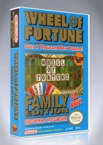 NES - Wheel of Fortune Family Edition