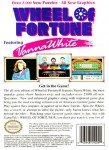 NES - Wheel of Fortune Featuring Vanna White (back)