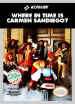 NES - Where in Time is Carmen Sandiego? (front)