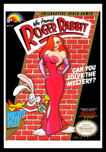 NES - Who Framed Roger Rabbit Poster