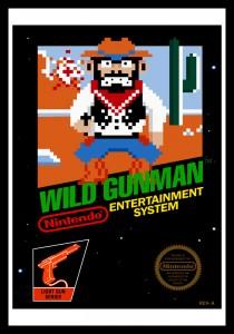 NES - Wild Gunman Poster