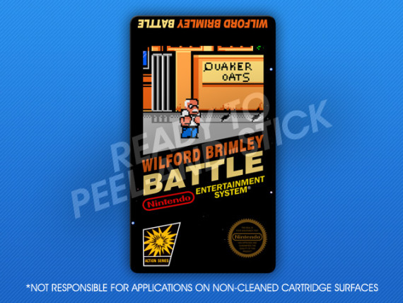 NES - Wilford Brimley Battle