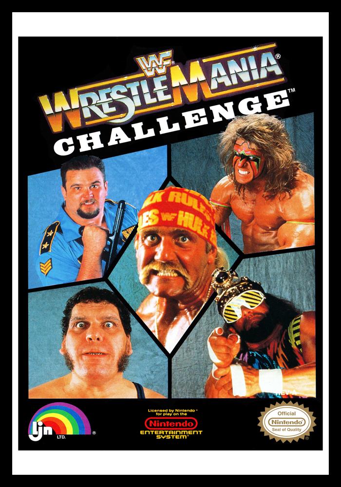 Nes Wwf Wrestlemania Challenge Retro Game Cases