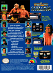NES - WWF Wrestlemania Steel Cage Challenge (back)