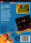 NES - Xevious (back)
