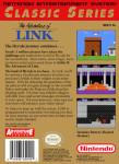 NES - Zelda II: The Adventure of Link Classic Series (back)
