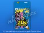NES - Zen: Intergalactic Ninja Label