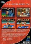 Neo Geo CD - 3 Count Bout (back)