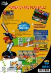 Neo Geo CD - Baseball Stars 2 (back)