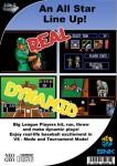 Neo Geo CD - Baseball Stars Professional (back)