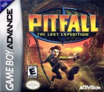 GBA - Pitfall: The Lost Expedition (front)