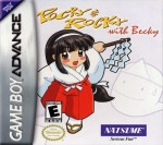 GBA - Pocky & Rocky with Becky (front)