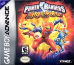 GBA - Power Rangers: Ninja Storm (front)