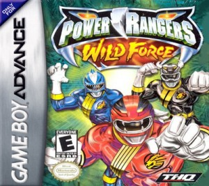 GBA - Power Rangers: Wild Force (front)