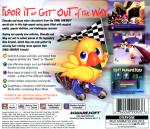PS1 - Chocobo Racing (back)