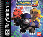 PS1 - Digimon World 3 (front)