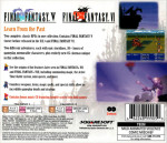 PS1 - Final Fantasy Anthology (back)