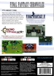 PS1 - Final Fantasy Chronicles (back)