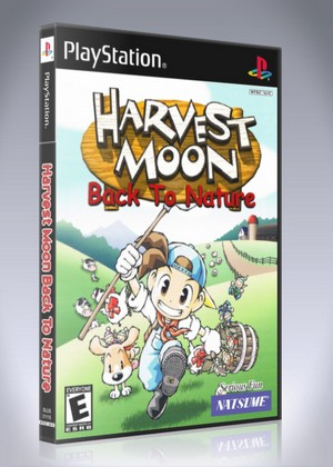 Harvest Moon Back To Nature Retro Game Cases
