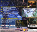 PS1 - Legend of Dragoon (back)