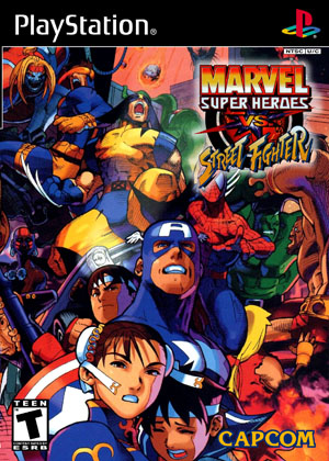 Marvel Super Heroes vs Street Fighter | Retro Game Cases