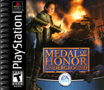PS1 - Medal of Honor: Underground (front)