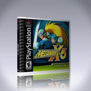PS1 - Megaman X5