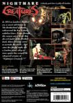 PS1 - Nightmare Creatures (back)
