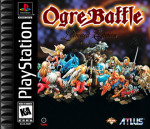 PS1 - Ogre Battle (front)