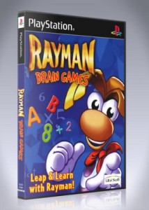 PS1 - Rayman Brain Games
