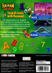 PS1 - Rayman Brain Games (back)