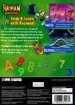 PS1 - Rayman Brain Games (back)