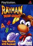 PS1 - Rayman Brain Games (front)