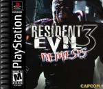 PS1 - Resident Evil 3 Nemesis (front)