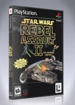 PS1 - Star Wars Rebel Assault II: The Hidden Empire