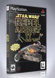 PS1 - Star Wars Rebel Assault II: The Hidden Empire