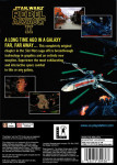 PS1 - Star Wars Rebel Assault II: The Hidden Empire (back)