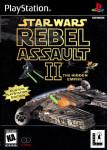 PS1 - Star Wars Rebel Assault II: The Hidden Empire (front)