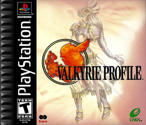 PS1 - Valkyrie Profile  (front)