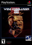 PS1 - Wing Commander III: Heart of the Tiger (front)