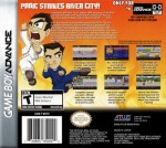 GBA - River City Ransom EX (back)