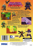 Sega Saturn - Blazing Heroes (back)