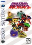 Sega Saturn - Blazing Heroes (front)