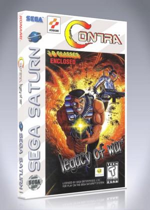 Sega Saturn - Contra: Legacy of War