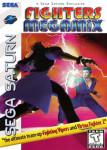 Sega Saturn - Fighters Megamix (front)